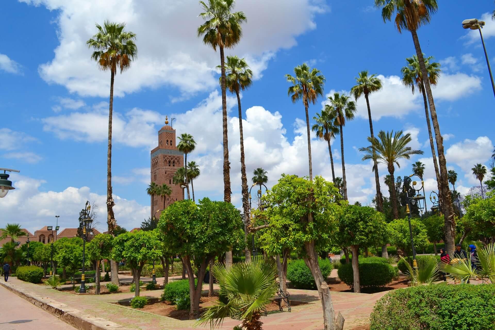 Jardin Koutoubia Visiter Marrakech