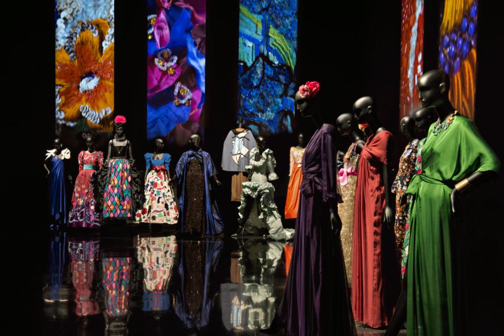 Exposition musée Yves saint Laurent Marrakech